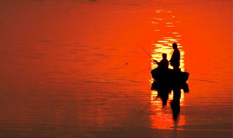 Pescuit in Delta Dunarii